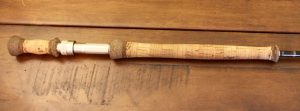 Handle small two handed rod