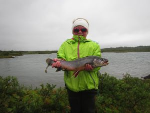 Arctic Char caught by Perla Sol