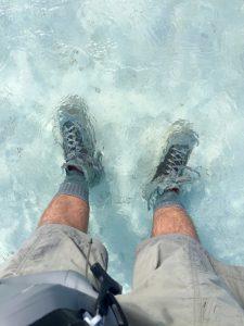 Wading boots socks no gravel guards