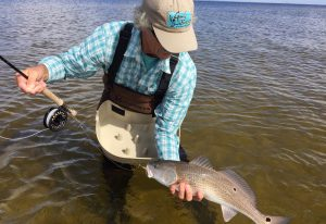 Baz with Redfish