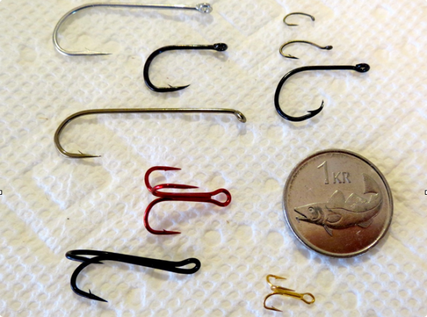 Assortment of hooks