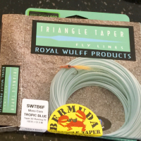 Royal Wulff triangle taper line