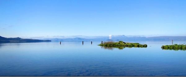 Morning at Lake Thingvellir