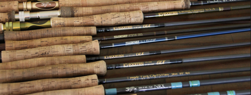A quiver of rods