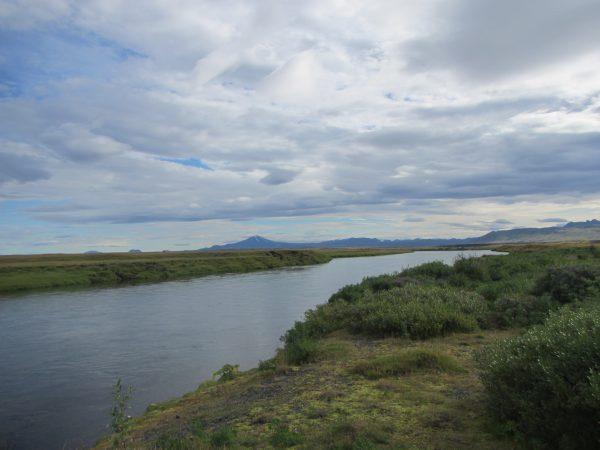 Hofteigsbreiða efri (#57, Hekla the volcano at center)