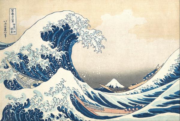 The Kanagawa wave