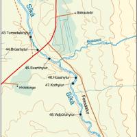Síká fishing map