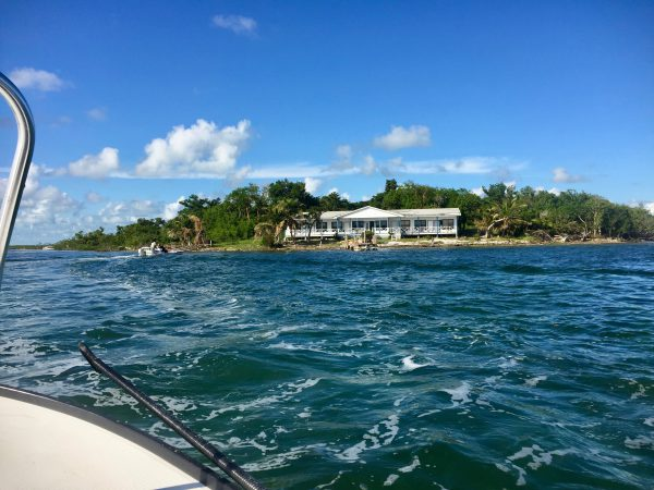 The Water Cay lodge