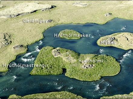 Geldingey - Hrúthólmi