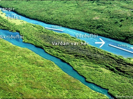 Hofstaðaeyja - Vörðuflói