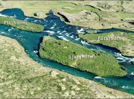 Arnarvatn - Bjarghólmi