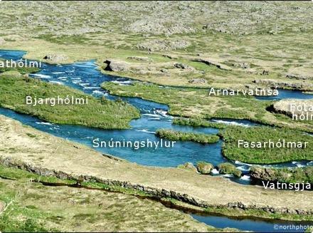 """Arnarvatn - """"Snúningshylur"""""""