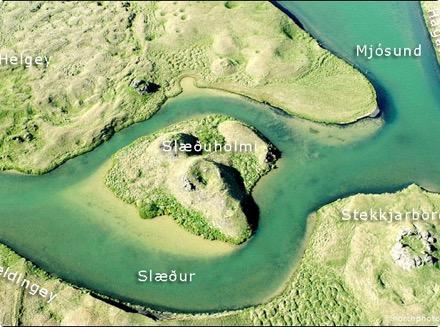 Geldingey - Slæður