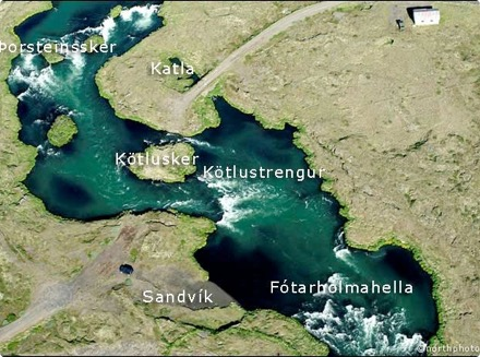 Arnarvatn - Sandvík
