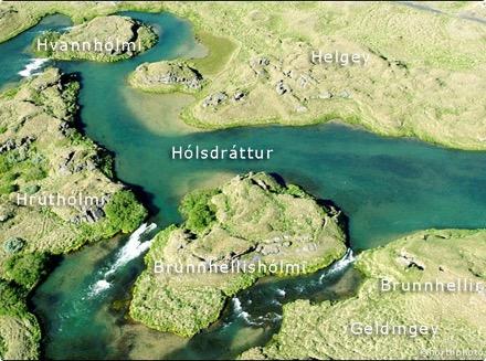 Geldingey - Hólsdráttur