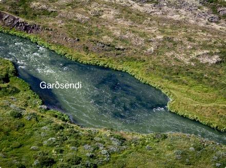 Hofstaðaeyja - Garðsendi