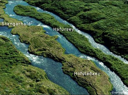Hofstaðaeyja - Stangarhald