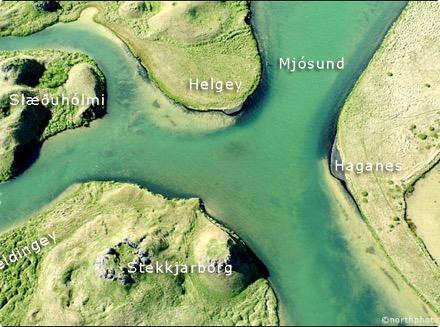 Geldingey - Mjósund