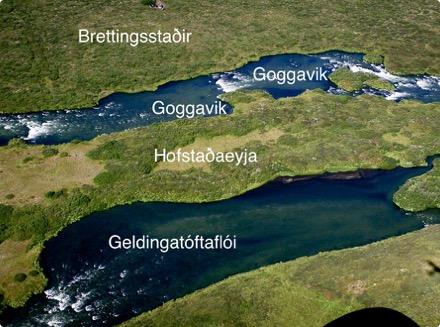 Hofstaðaeyja - Geldingatóttaflói