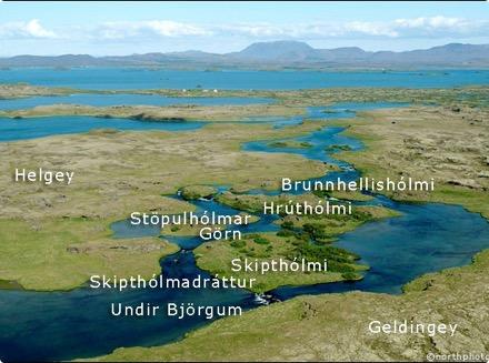 Geldingey - Miðkvísl