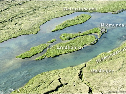Geldingey - Landhólmar