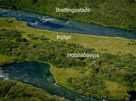 Brettingsstaðir - gegnt Þúfunni