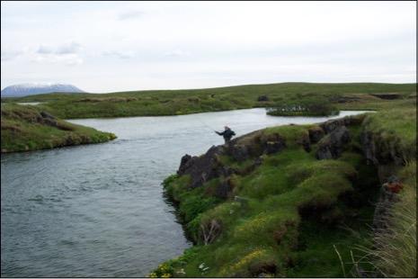 Við Urðarfoss