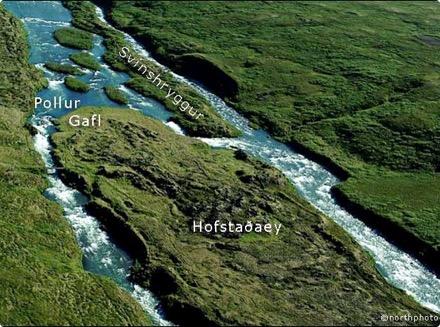 Hofstaðaeyja - Gafl