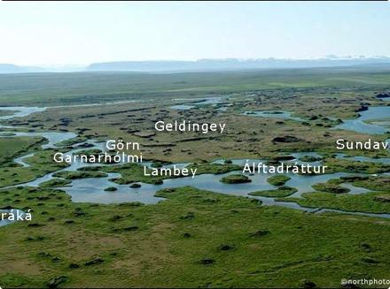 Geldingey - Garnarhólmi