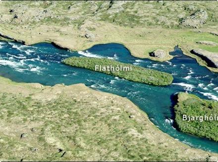 Arnarvatn - Flathólmi