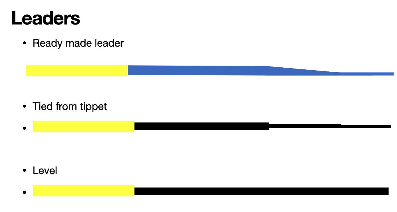 Three leader types